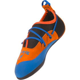 La Sportiva Stickit Climbing Shoes Kinder lily orange/marine blue